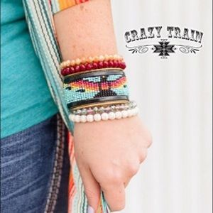 Crazy Train Jewelry - Feathers in the Wind cuff bracelet